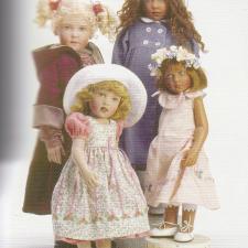 Образы кукол Хелен Киш на тему Времена года