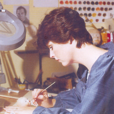 Творчество  Хелен Киш.  Начало в создании виниловых кукол. 1 часть