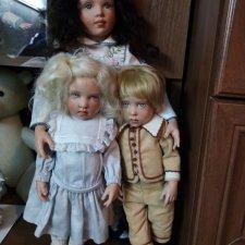Моя коллекция кукол Хелен Киш часть 2