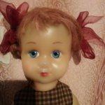 Продается ранняя паричковая кукла Лена Фабрика 8 марта