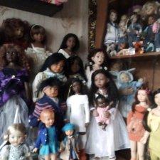 Моя коллекция кукол Филлипа Хита, часть первая