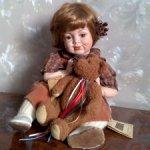 Кукла из Германии.  Продаются парой.