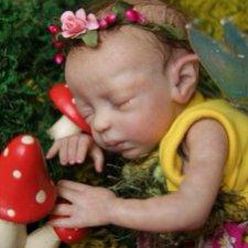 Чудесный спящий эльфик Zodi