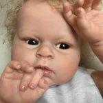 Кукла реборн Майя от Марины Блю/ 2009г/ Сертификат рождения