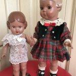 Две куклы Черепашки / Schildkrot