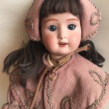 Очень редкая антикварная кукла Англия / D.P.C.
