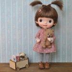 Платье для кукол формата Holala/MZZM/Monst
