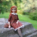 Гибрид Анны из Холодного сердца и Барби мтм