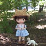 Платье для кукол формата Monst/Holala