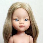 Маника Рапунцель Паола Рейна с пшеничными волосами. На теле 1025-17 новая.
