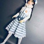 "Комплект "" Морская прогулка"" для кукол формата SD  21In."