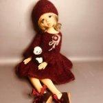 """Аутфит для кукол формата MSD Kaye Wiggs 17-18"""""""