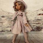Льняной комплект для  кукол meadow  twin poop Ardin , и подобного формата