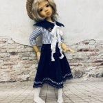 """Платье для кукол формата Kaye Wiggs 17"""""""