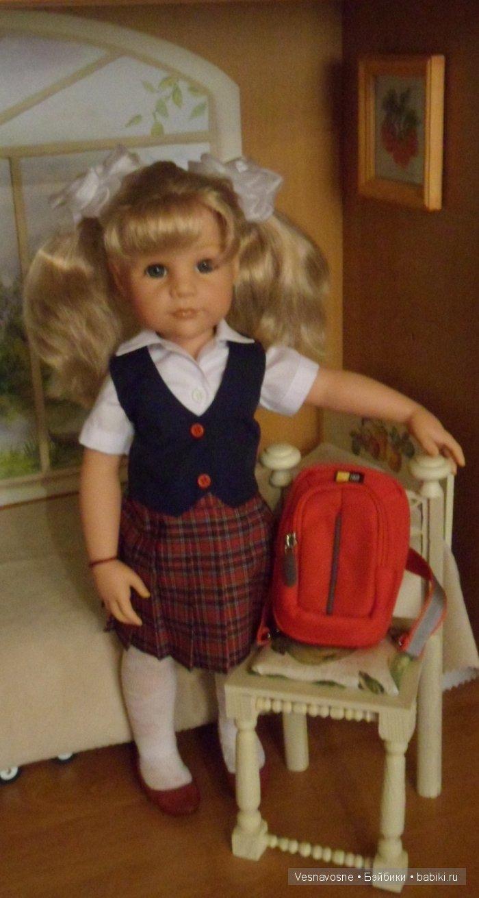схемы вязаной одежды для кукол gotz