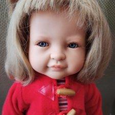 Принцесса Леонор в красном пальто Паола Рейна. Цена снижена.