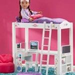 Кровать-чердак для кукол формата 46-50 см