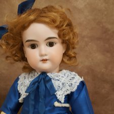 Антикварная кукла Арман Марсель 50см. Уценка