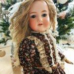 Антикварная кукла Арман Марсель 60см
