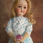 Антикварная кукла Schoenau/ Hoffmeister