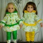 Костюм  для кукол Готц 50см и похожих по размерам