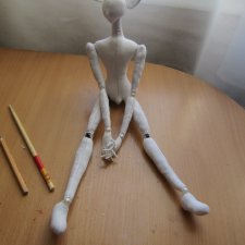 Мой небольшой Мастер класс по текстильной кукле