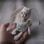 Белый зайка почти Teddy Doll
