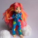 Пижама кигуруми на кукол Cave Club