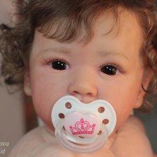 Моя любимка Саския. Кукла реборн Инны Ершовой Саския, молд Saskia by Bonnie Brown