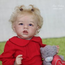 Кукла реборн Инны Ершовой Виктория (Saskia by Bonnie Brown)