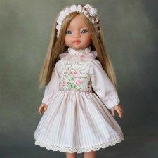 Нарядное платье для кукол Паола Рейна Paola reina 34 см.
