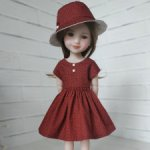 Наряд для кукол Ruby Red и Llorens 37 см.