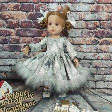 Акция на зимние платья для куколок готц 42см