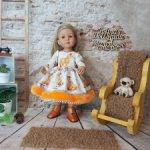 Платьица для куколок Gotz Little kidz.  Коллекция  осень-зима 2021 ч.2