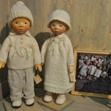 Деревянные куклы Элизабет Понграц (Elisabeth Pongratz)