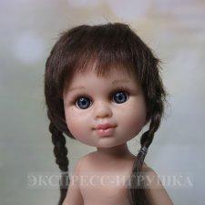 "Кукла ""My girl"" шатенка с косичками  , без одежды, 35 см, Berjuan"