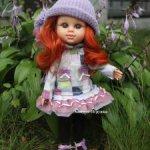 """Кукла """"My girl"""" рыженькая, без одежды, 35 см, Berjuan"""