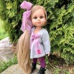"Кукла ""My girl"" блондинка с волосами до щиколоток, 35 см, Berjuan"