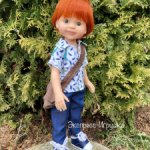 Кукла мальчик Крис 32 см, Paola Reina
