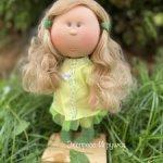 Кукла MIA CASE, блондинка в салатовом , 30 см, Nines