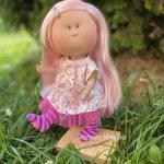 Кукла MIA CASEс нежно-розовыми волосами,  30 см, Nines