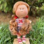 Кукла MIA CASE рыжеволосая с веснушками,  30 см, Nines