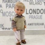 Кукла-малышка Марио блондин, Carmen Gonzalez