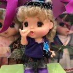АКЦИЯ!!! Кукла Mini gege фиолетовой кофте, 15 см, Mademoiselle GeGe