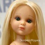 Кукла Ева платиновая блондинка с волосами до щиколоток и зелеными глазами, без одежды, Berjuan