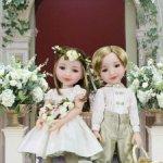 "Кукла Шарлотта и Джордж ""Свадебная пара"", 37 см, Ruby Red"