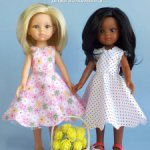 """Платья из сборника """"Оленька"""" для кукол типа Paola Reina 32 см"""