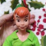 Кукла винтажная Питер Пен