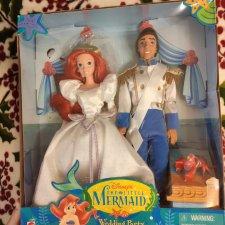 Wedding Party Gift Set ( набор свадебный Эрик и русалочка Ариель)