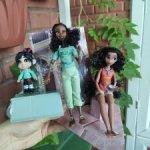 Сет кукол по ральфу : ванилопа + Тиана + моана